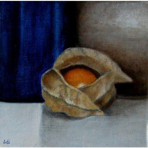 Linda Brill Blau und Orange