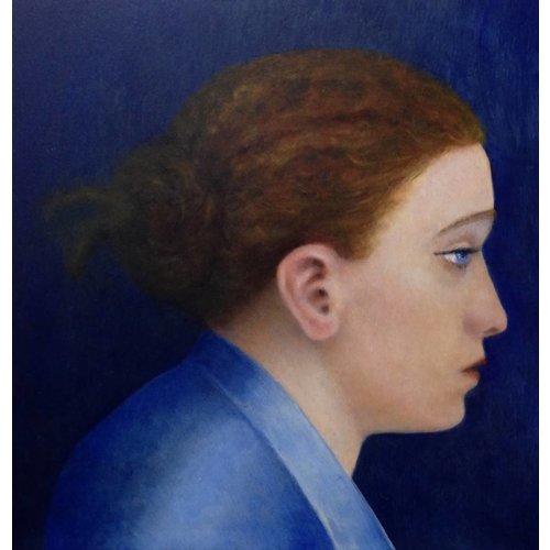 Linda Brill Blue Kimono