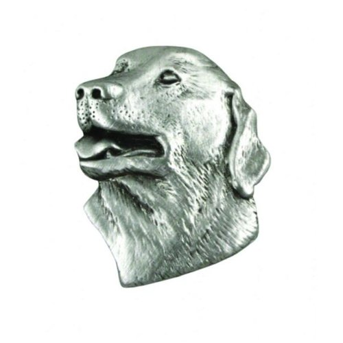 A E Williams Labrador Head lapel pin