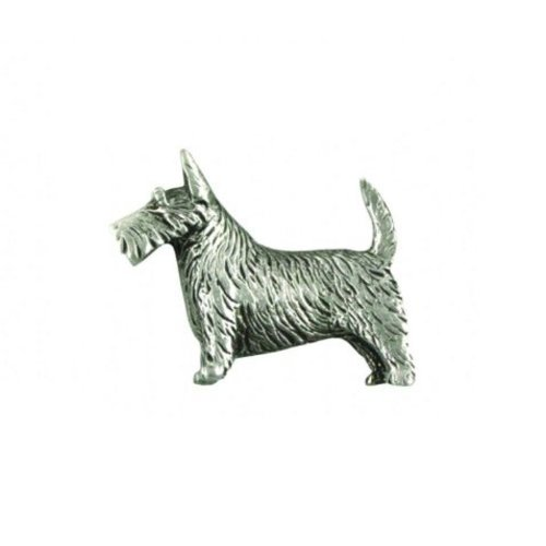 A E Williams Scottie lapel pin