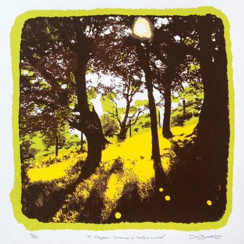 West Yorkshire Print Workshop A Dayglow Summer in Owlers Wood Ed. 25