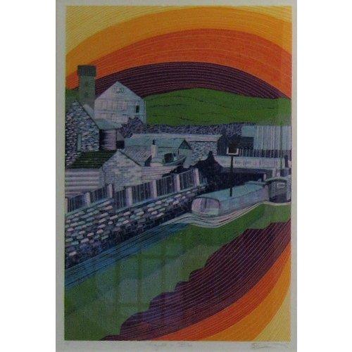 West Yorkshire Print Workshop Copy of Locomotive Bridge