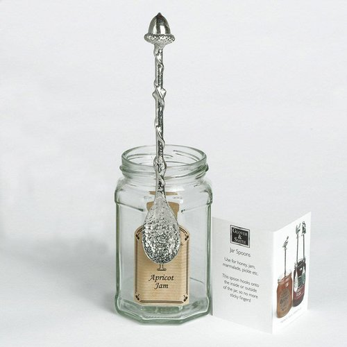 Glover and Smith Acorn Long Jar Löffel