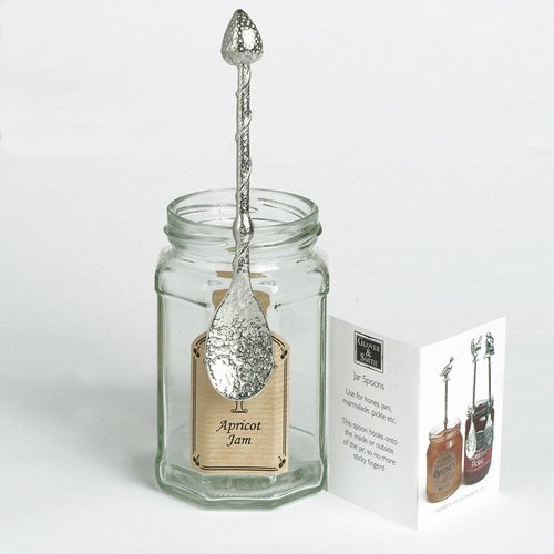 Glover and Smith Strawberry  Long Jar Spoon