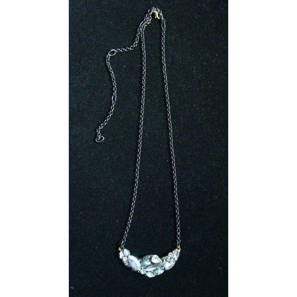 Vintage Quartz Crystal Necklace