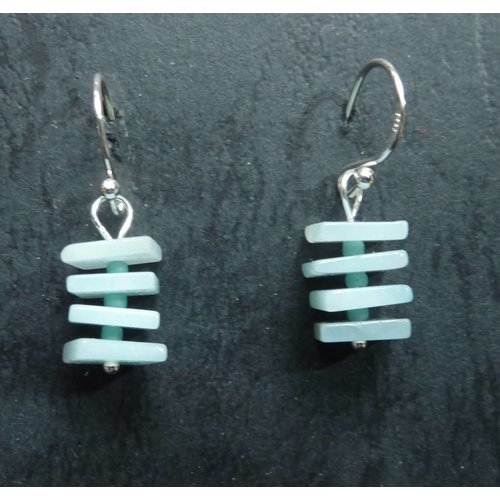 Melissa James Copy of Turquoise Drop  Earrings
