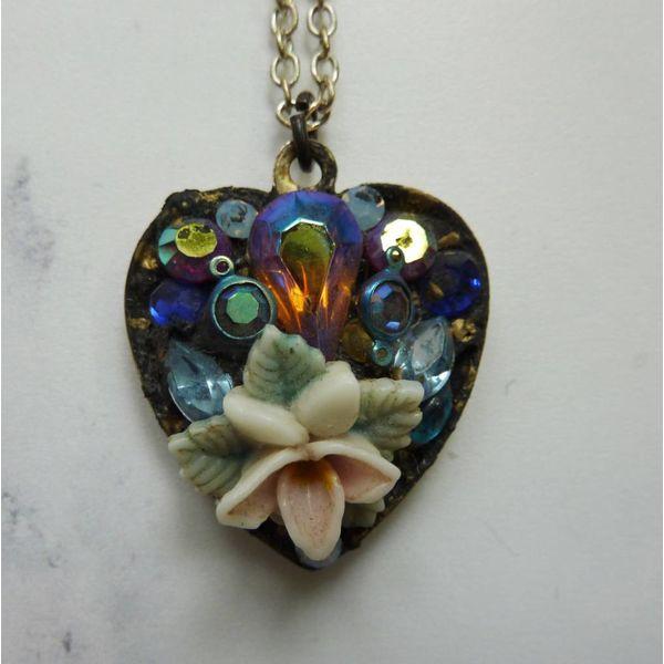 Vintage Heart Necklace