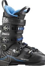 Salomon X MAX 100: Black / Metallic Black / Indigo Blue