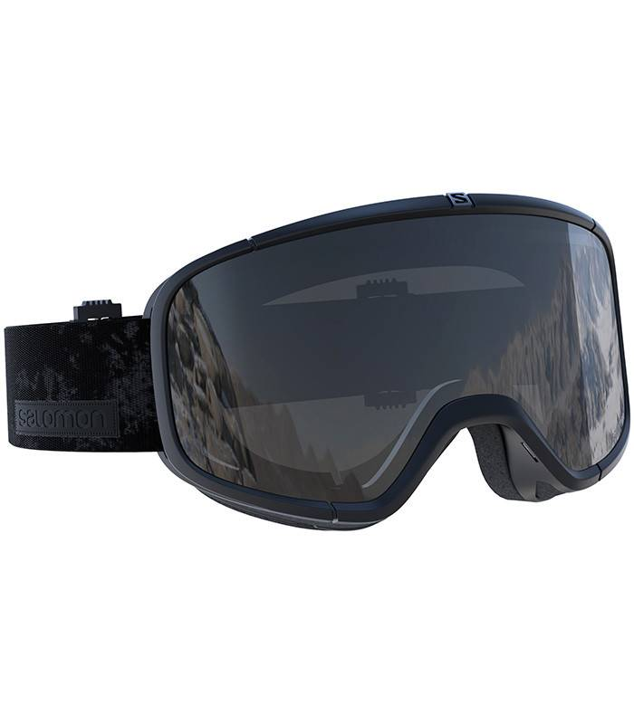 Salomon FOUR SEVEN Black: Universal Silver Mirror