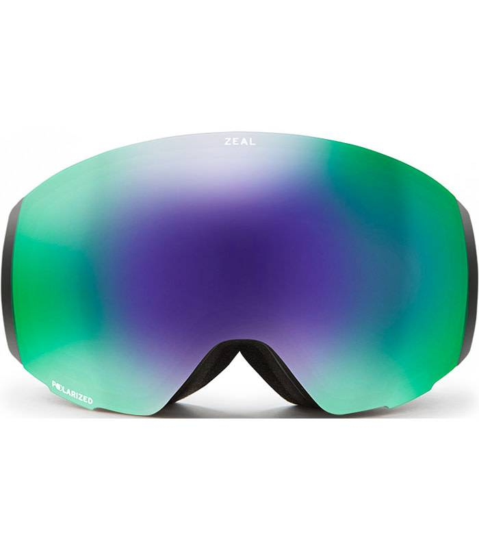 Zeal Optics PORTAL: Dark Night: Polarized Jade Mirror + Sky Blue Mirror