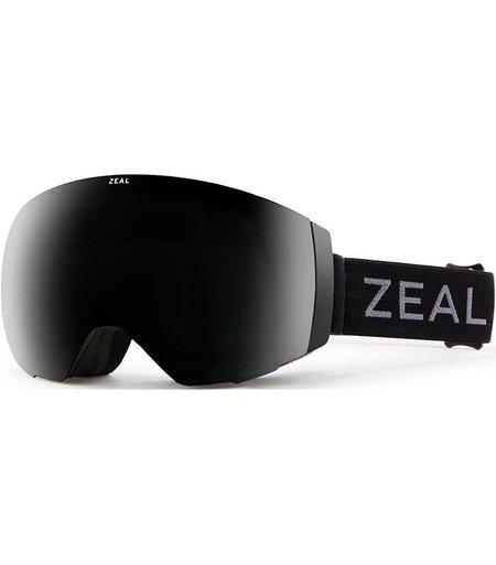 Zeal Optics PORTAL: Dark Night: Dark Grey + Sky Blue Mirror