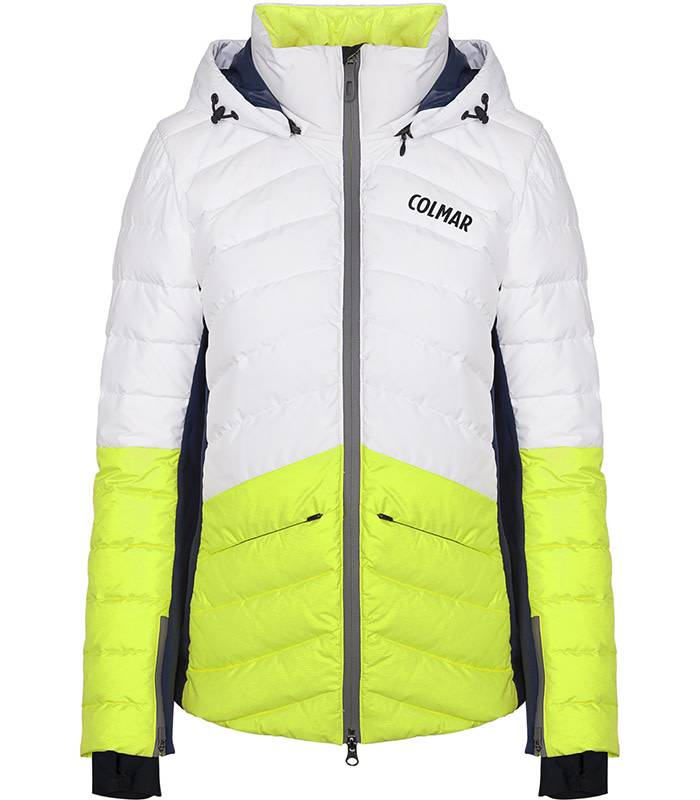 Colmar USHUAIA: Ice Lemon / Bianco / Blue Black Jacket