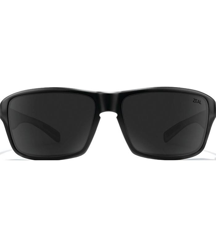 Zeal Optics INCLINE: Matte Black Frame - Ellume Dark Grey Lens