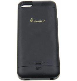 iPhone 5/5S/SE KiwiBird Power Case 2.000 / 2.500 mAh Black