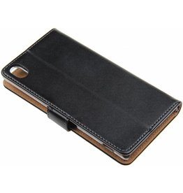 Sony Xperia Z3+ Celly Wallet Case Leather Black