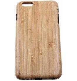 iPhone 6 Plus / 6S Plus Wood Hard Case Light-Brown