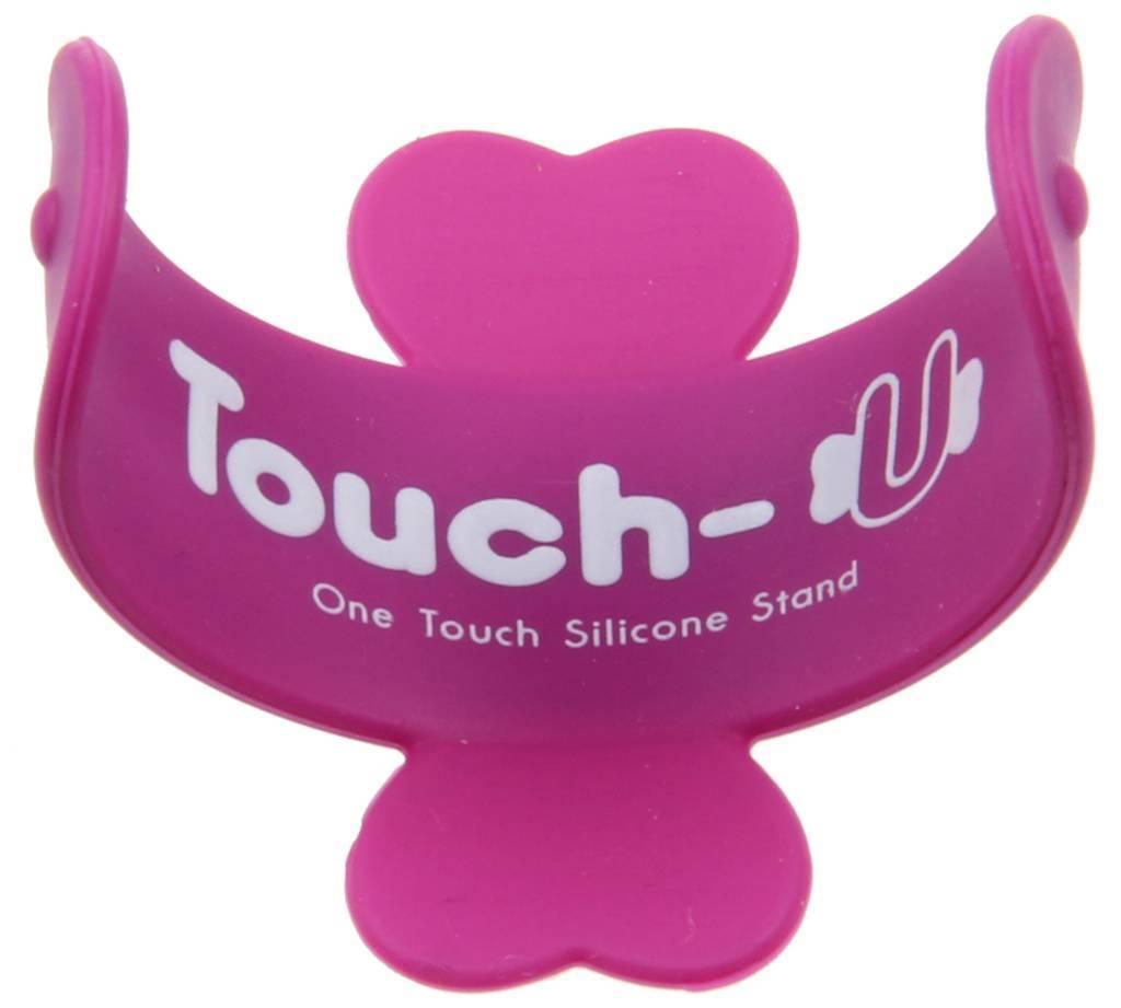 Touch U Silicone Slap Stand Putih Referensi Daftar Harga Terbaru Universal Standing Handphone Ungu Penan Purple