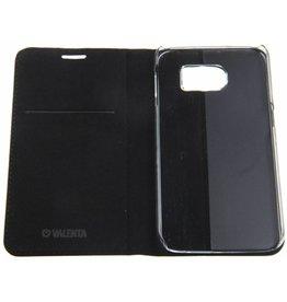 Samsung Galaxy S6 SM-G920F Valenta Classic Style Book Case Blue