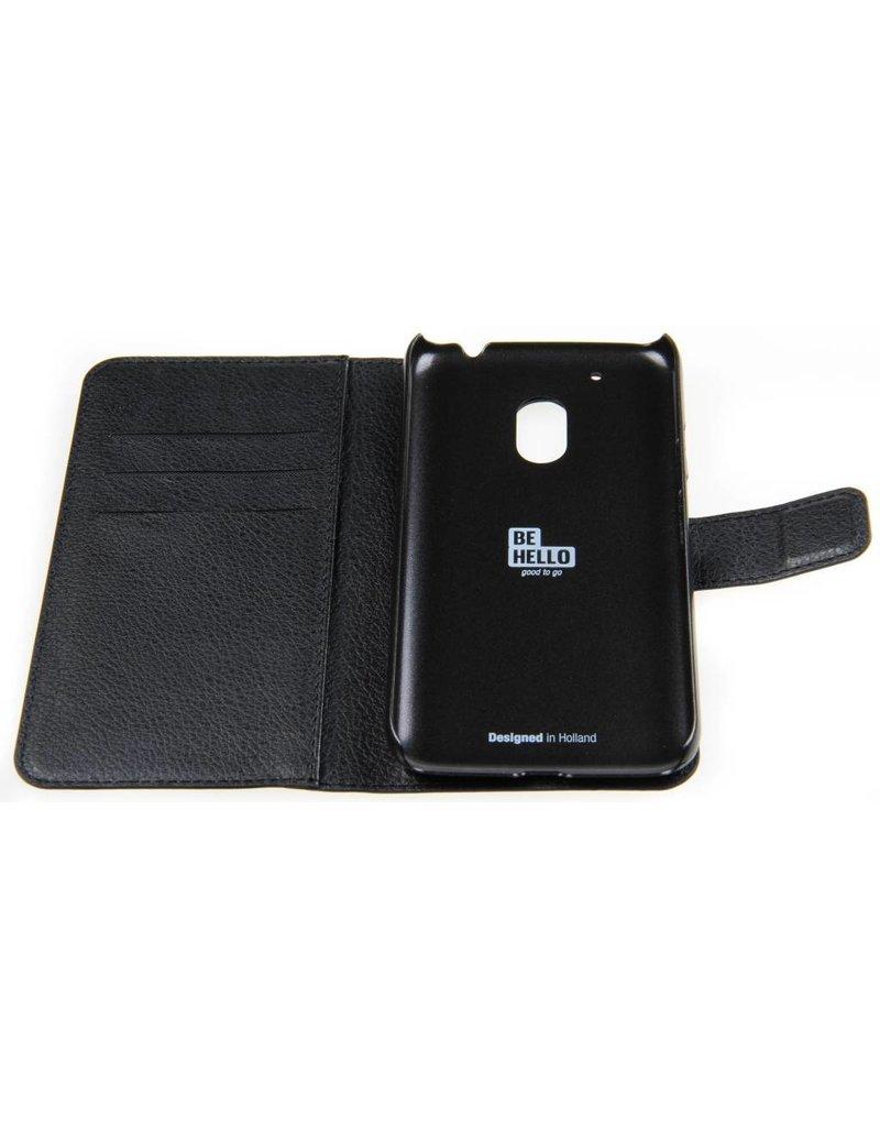 BeHello Motorola Moto G4 Play Wallet Case Black