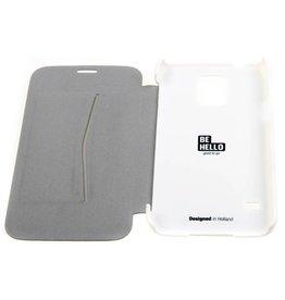 BeHello Samsung Galaxy S5 / S5 Neo Book Case White