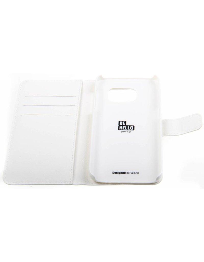 BeHello Samsung Galaxy S7 Wallet Case White