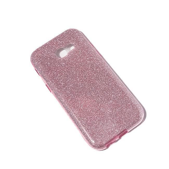 Galaxy A5 (2017) TPU glitter pink