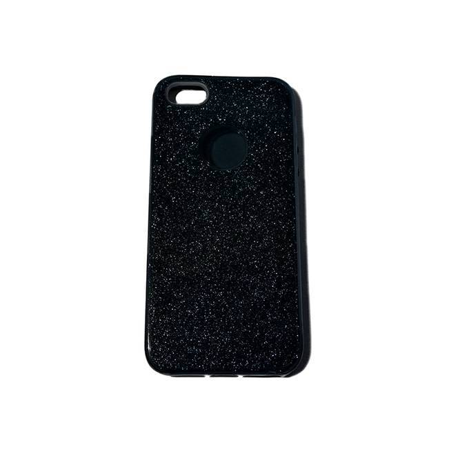 iPhone 5/5S/SE TPU glitter grey