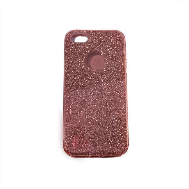 iPhone 5/5S/SE TPU glitter pink