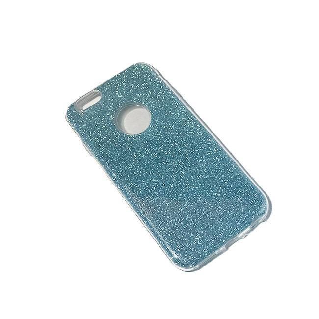 iPhone 6/6S TPU glitter light-blue