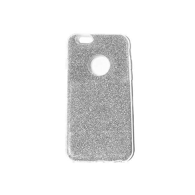 iPhone 6/6S TPU glitter silver