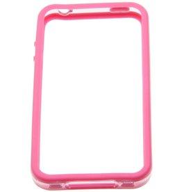 iPhone 4/4S Cellular Line Bumper Case Roze