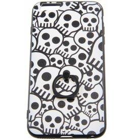 iPhone 6 Plus / 6S Plus Ring Hard Case (Skulls)