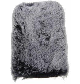 iPhone 6 / 6S Rabbit Fur Case Plastic Gray