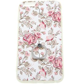 iPhone 6 Plus / 6S Plus Ring Hard Case (Flowers)
