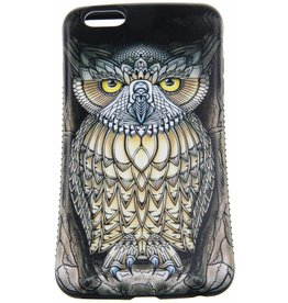 iPhone 6 Plus / 6S Plus Hard Case (Owl Print)