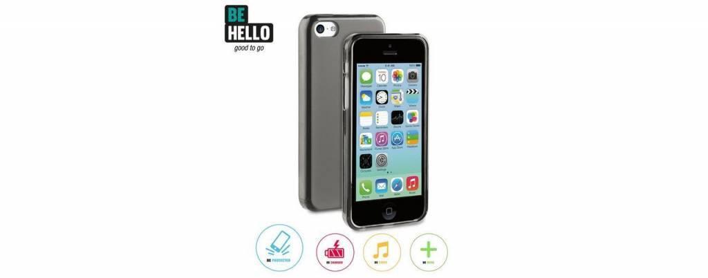 BeHello iPhone 5C Gel Case Black
