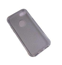 iPhone 7/8 TPU glitter silver