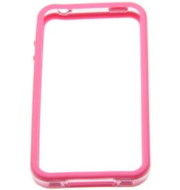 iPhone 4/4S Cellular Line Bumper Case Roze