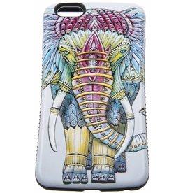 iPhone 6 Plus / 6S Plus Hard Case (Elephant Print)