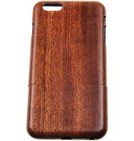 iPhone 6 Plus / 6S Plus Wood Hard Case Dark-Brown