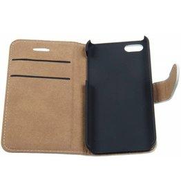 iPhone 5/5S/SE Smart Smiley Book Case White