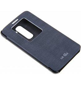 LG G2 D802 LG Quick Window Book Case Black