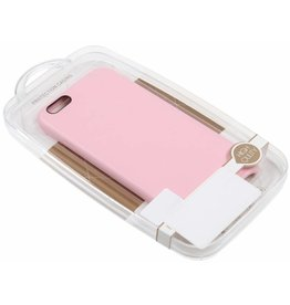 iPhone 6/6S TPU Case Leather Pink