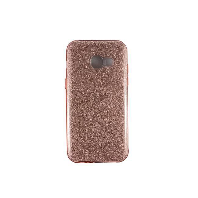 Galaxy A3 (2017) TPU glitter pink
