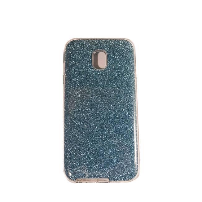 Galaxy J3 (2017) TPU glitter blue