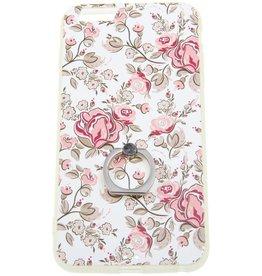 iPhone 6 Plus / 6S Plus Ring Hard Case (Flowers)