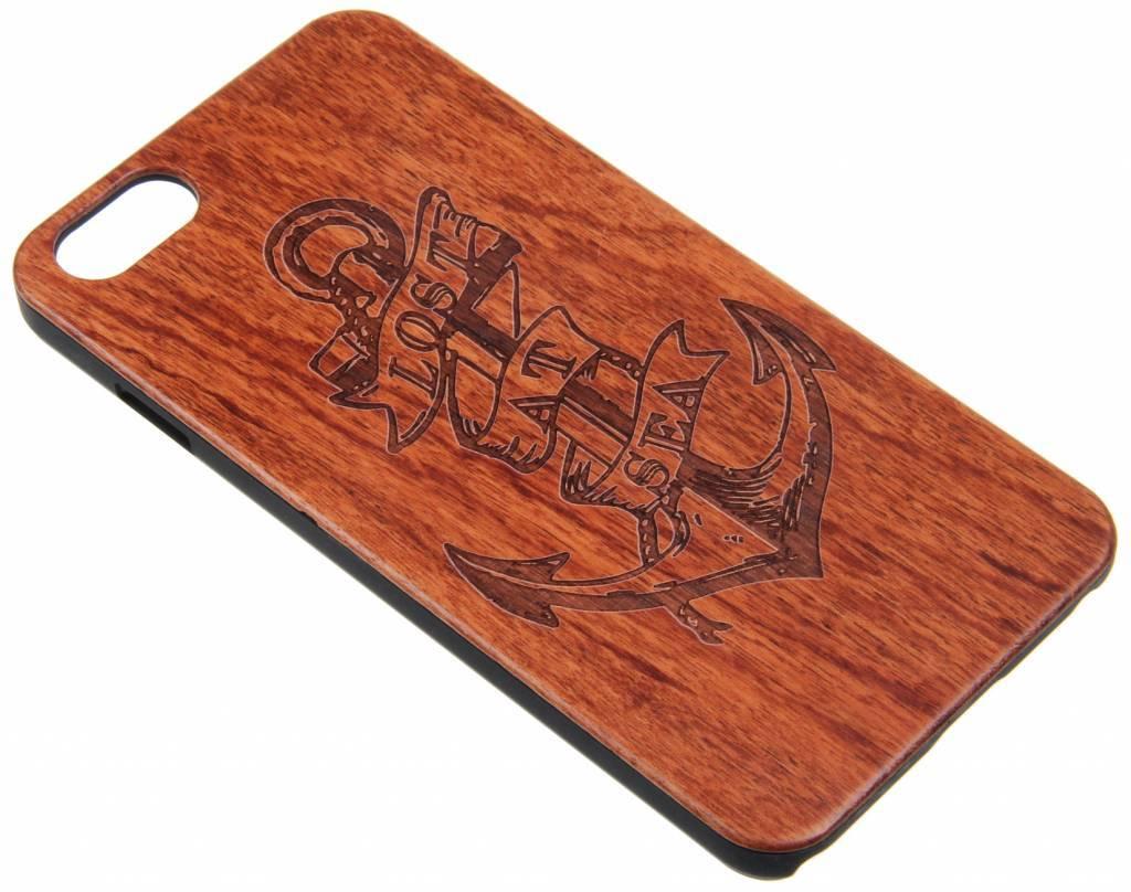 iPhone 6 Plus / 6S Plus Wood Hard Case (Anker) Dark-Brown