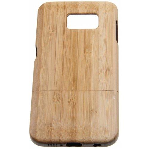 Samsung Galaxy S7 Wood Hard Case Light-Brown