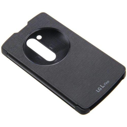 LG L Bello D331 LG Quick Circle Book Case Black