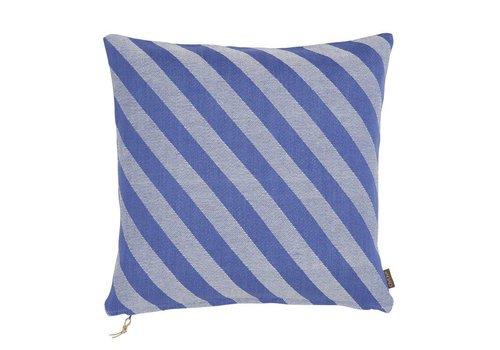 OYOY Fluffy Cushion - Blue - 50x50